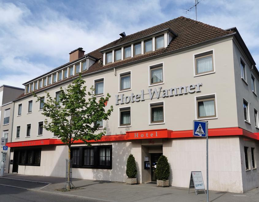 Außenansicht Aussenansicht Hotel Wanner in Böblingen Zentrales Business Hotel