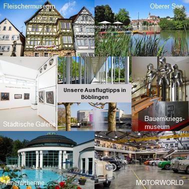 Lage Umgebung Ausflugstipps Böblingen Hotel Wanner in Böblingen Zentrales Business Hotel