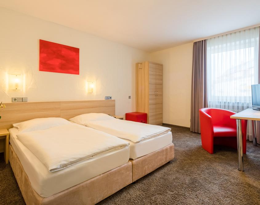Doppelzimmer Komfort Hotel Wanner in Böblingen Zentrales Business Hotel
