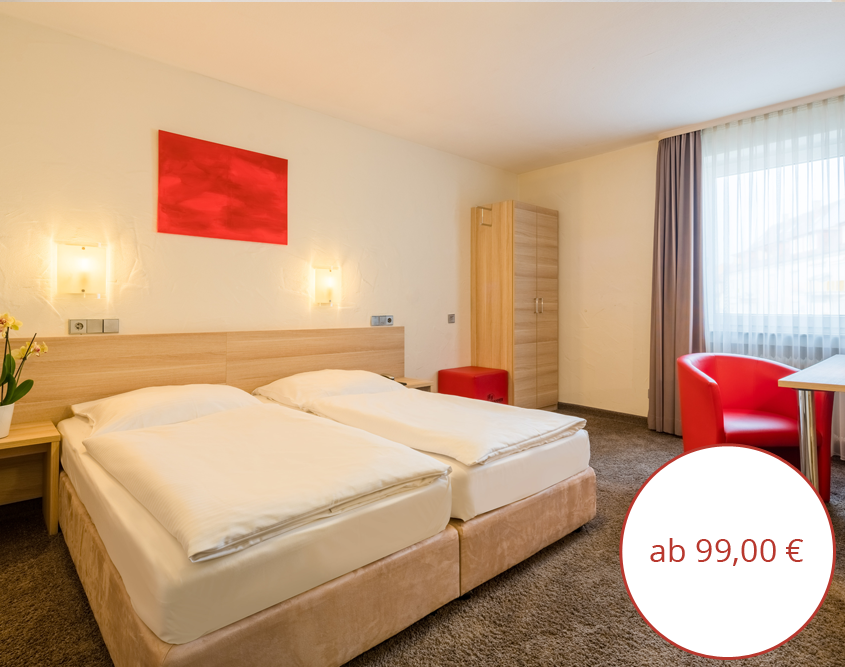 Komfort Doppelzimmer Hotel Wanner in Böblingen Zentrales Business Hotel