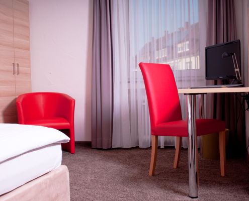 Komfort Einzelzimmer Hotel Wanner in Böblingen Zentrales Business Hotel