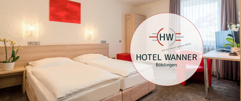 Doppelzimmer Hotel Wanner in Böblingen Zentrales Business Hotel